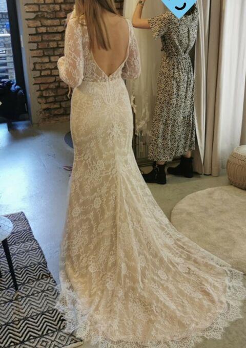 Second Hand Brautkleid | Tara Lauren | Fit and Flare | Gr. 40 | Neu & ungetragen