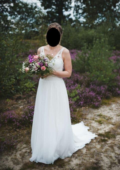 Second Hand Brautkleid | Modeca | Boho | Gr. 38