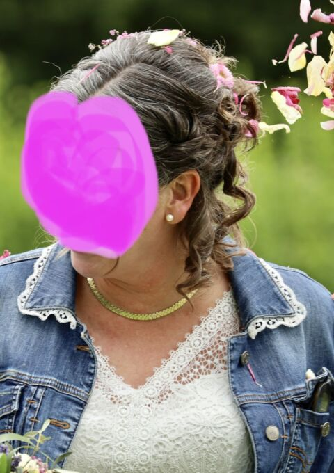 Second Hand Brautkleid | Bianco Evento | A-Linie | Gr. 44 | Maßgeschneidert