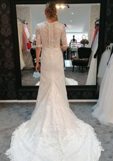 Second Hand Brautkleid   Elena Morar   Fit and Flare   Gr. 36   Neu & ungetragen
