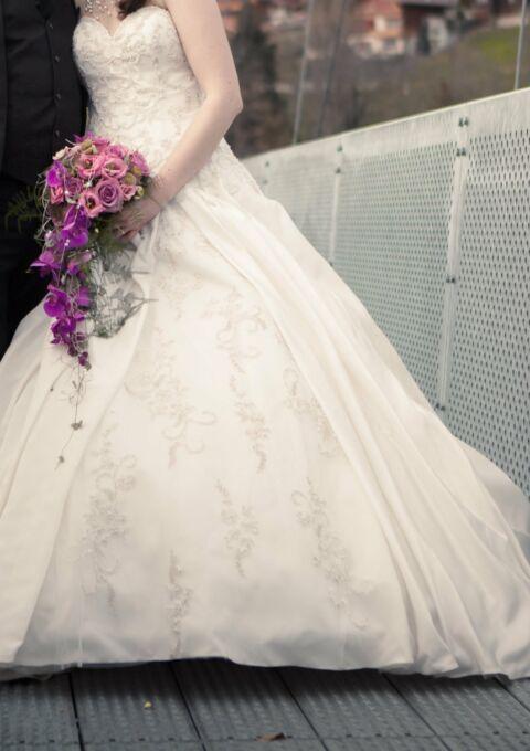 Second Hand Brautkleid | Mery's Couture | Prinzessin | Gr. 38