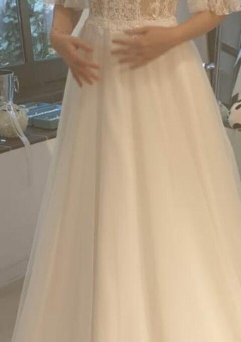 Second Hand Brautkleid | Agnes Bridal Dream / Mode de Pol | Boho | Gr. 36 | Neu & ungetragen