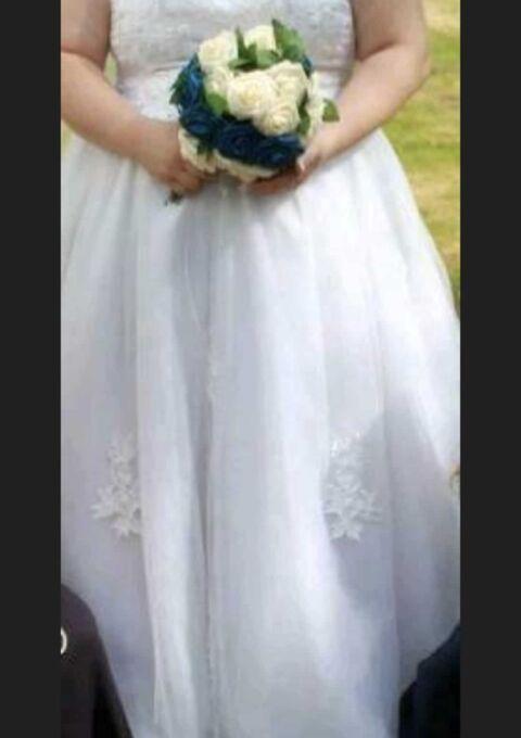 Second Hand Brautkleid | Prinzessin | Gr. 52