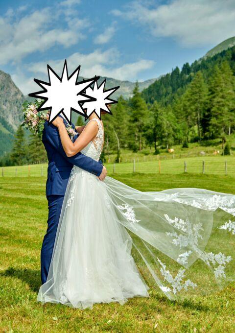 Second Hand Brautkleid | Modeca | A-Linie | Gr. 36