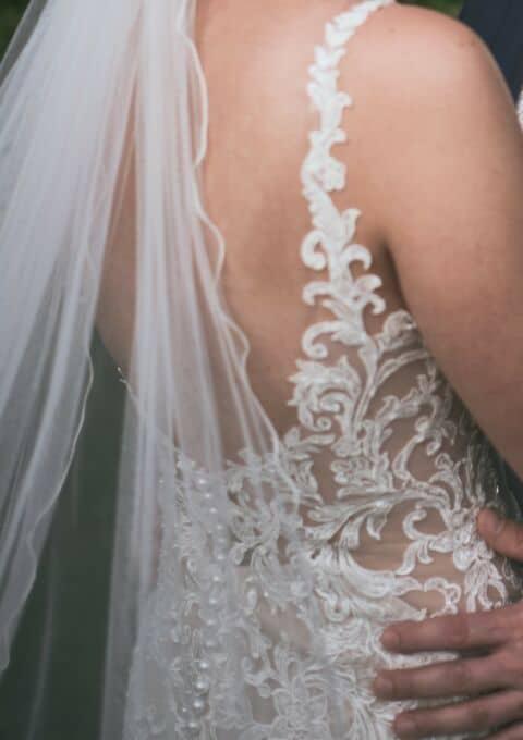 Second Hand Brautkleid   Essence of Australia   Meerjungfrau   Gr. 36   Maßgeschneidert