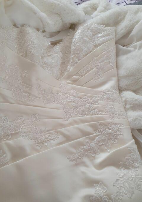 Second Hand Brautkleid   Eglantiine   A-Linie   Gr. 40   Neu & ungetragen