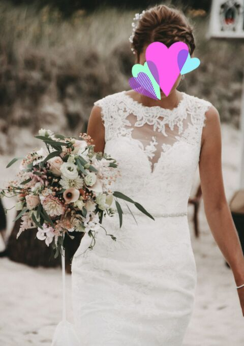 Second Hand Brautkleid | White One / St. Patrick / Pronovias | Farena | Meerjungfrau | Gr. 34