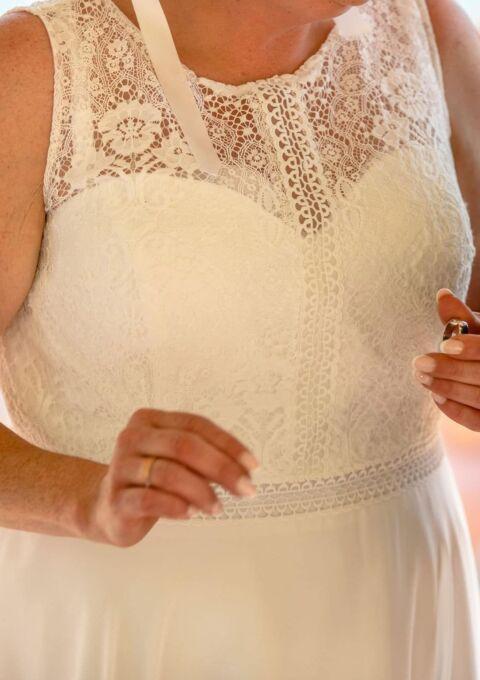 Second Hand Brautkleid | Lilly | A-Linie | Gr. 46