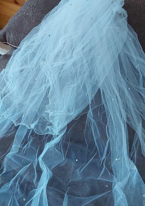 Second Hand Brautkleid   Einzelanfertigung   Königliche Schleppe   Prinzessin   Gr. 42   Maßgeschneidert