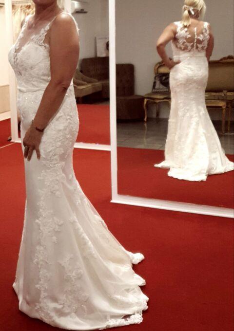 Second Hand Brautkleid | Pronovias Barcelona | Prinzessin | Gr. 40 | Maßgeschneidert