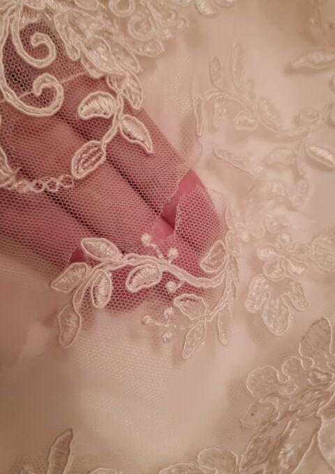 Second Hand Brautkleid   Bianco Evento   A-Linie   Gr. 46