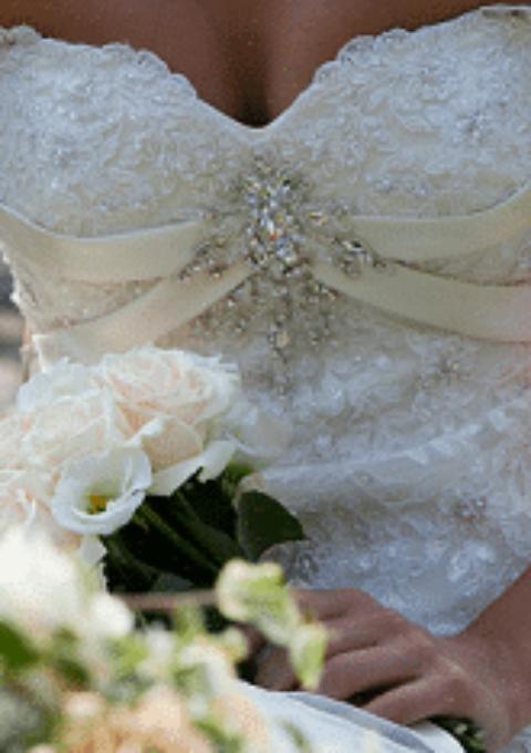 Second Hand Brautkleid | Mery`s Zürich | Sonstiges | Gr. 36 | Maßgeschneidert