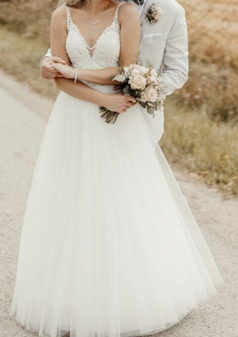 Second Hand Brautkleid   Diane Legrand   Prinzessin   Gr. 34