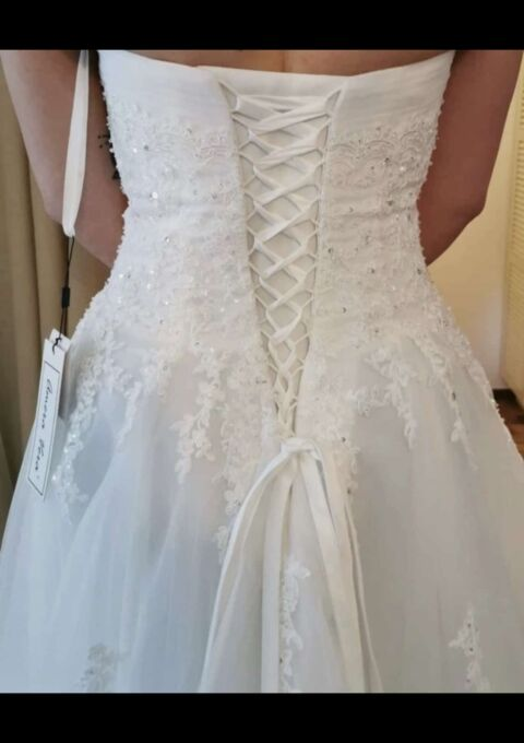 Second Hand Brautkleid   Amera Vera Einmal Prinzessin   A-Linie   Gr. 40   Neu & ungetragen
