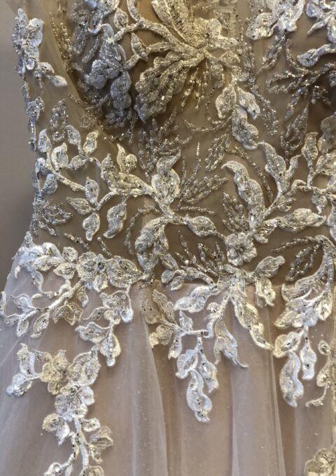 Second Hand Brautkleid | Anactacia | A-Linie | Gr. 36 | Maßgeschneidert