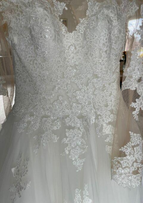Second Hand Brautkleid | Prinzessin | Gr. 38 | Neu & ungetragen