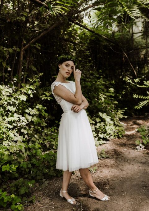 Brautkleid | ClaudiaHellerMode | Carina | Boho | Standesamt