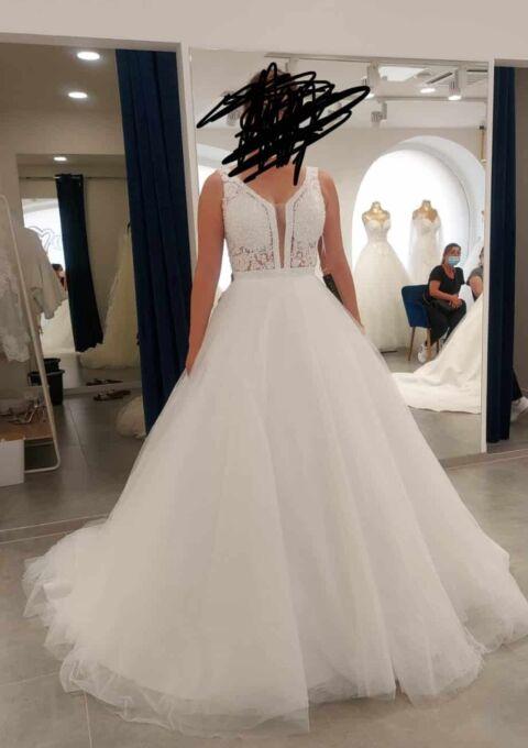 Second Hand Brautkleid | Modessa | A-Linie | Gr. 38