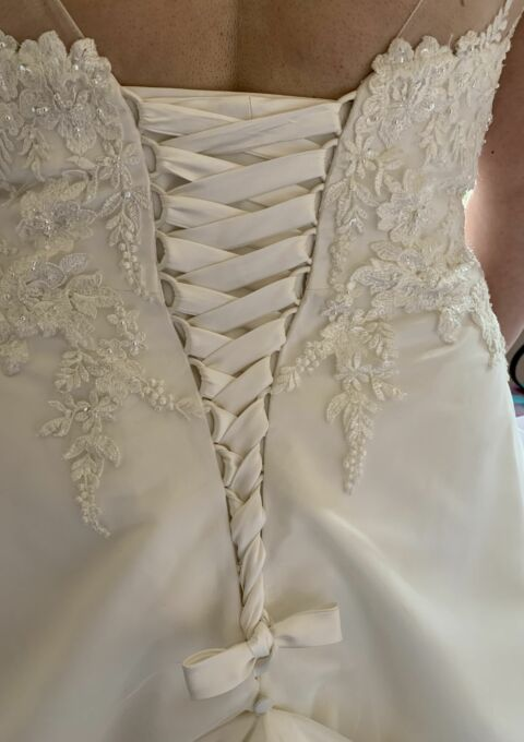 Second Hand Brautkleid | Weise Fashion | A-Linie | Gr. 50