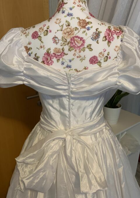 Second Hand Brautkleid | Vokuhila | Gr. 38
