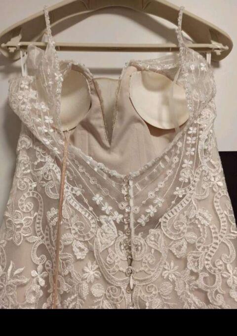 Second Hand Brautkleid | St. Patrick / Pronovias | Meerjungfrau | Gr. 38 | Maßgeschneidert | Neu & ungetragen