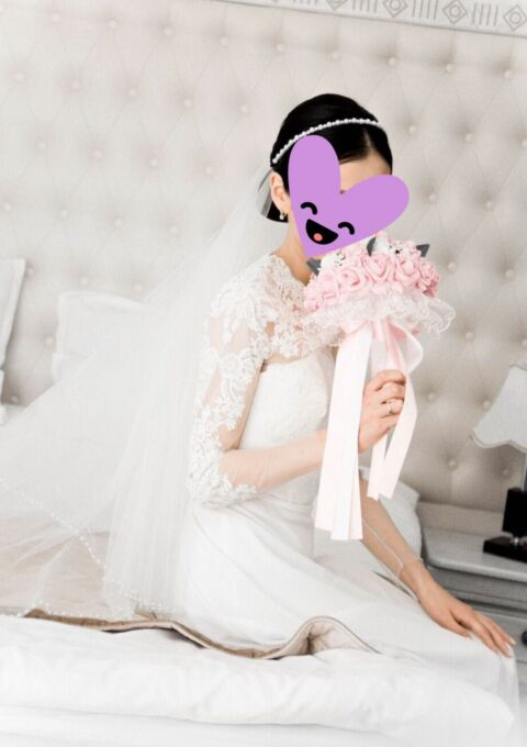 Second Hand Brautkleid | Victoria Spirina | A-Linie | Gr. 36 | Maßgeschneidert