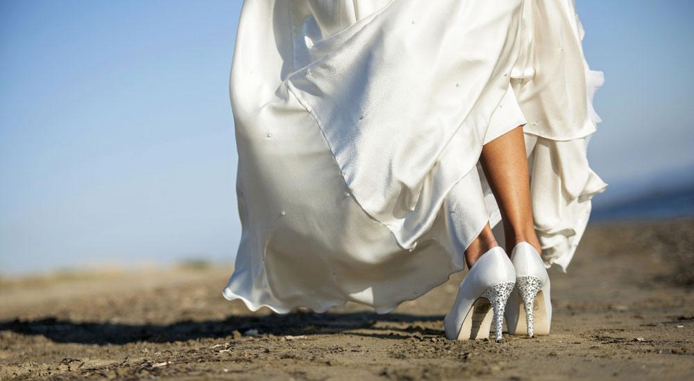 Ideale Länge des Brautkleids